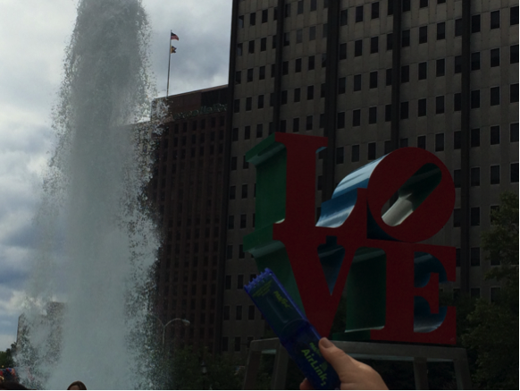 Philly LOVE statue