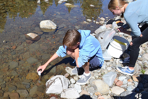 PASCO Heads Outdoors with Headwaters Science Institute