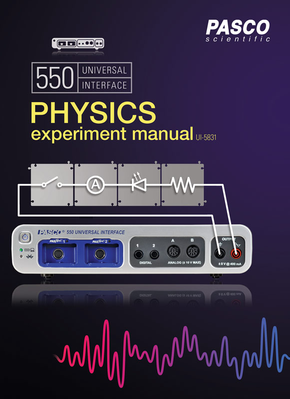 Universal 550 Physics Experiment Manual