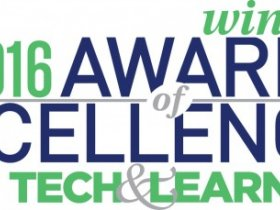 Three PASCO products won Awards of Excellence from Tech & Learning for 2016