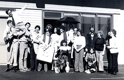 The PASCO team in 1975