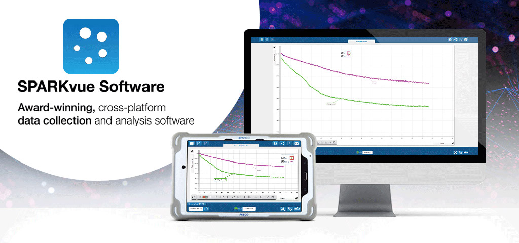 Sparkvue Data Collection Analysis Software Pasco
