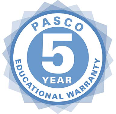 PASCO 5-Year Warranty